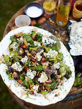 Roquefort salad | Cheese Recipes