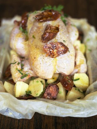 Super tasty Spanish roast chicken