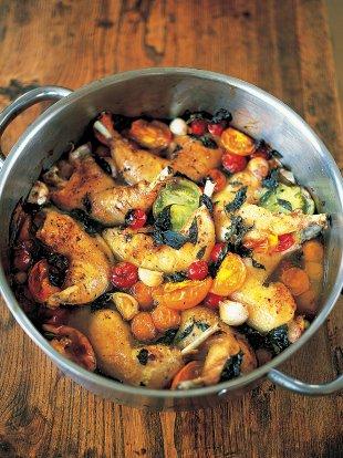 Easy one pot chicken recipe | Jamie Oliver recipes