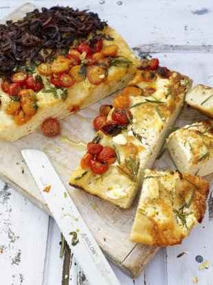 Easy Focaccia Bread Recipe Jamie Oliver Bread Recipes