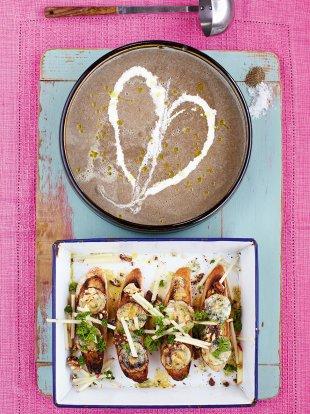 Mushroom soup vegetables recipes jamie oliver recipes forumfinder Images