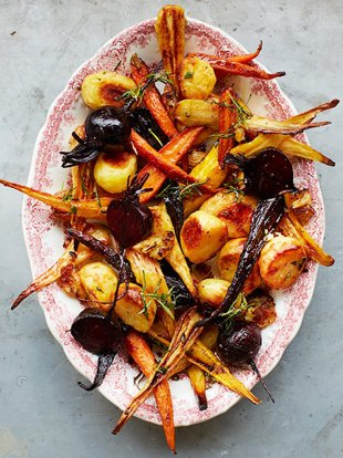 Gorgeous roast vegetables