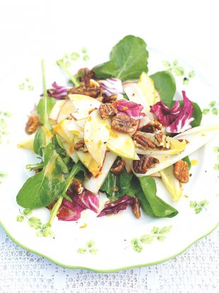 Southern pecan & apple salad