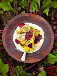 Mandolin salad