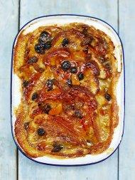 Vegan bread & butter pudding
