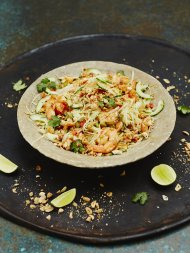 Prawn & papaya salad