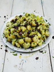 Cypriot-style potato salad