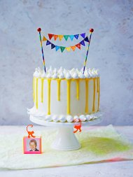Amalfi lemon layer cake