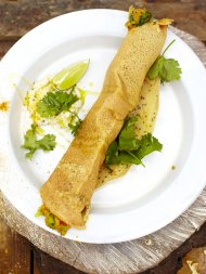 Amazing Indian dosa