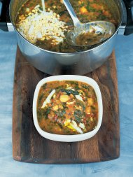 Scrumptious Spanish chickpea and chorizo soup