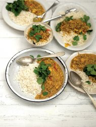 Southern Indian crab curry