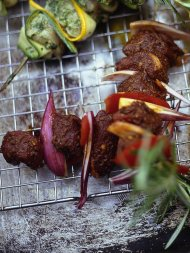 The best marinated lamb kebabs