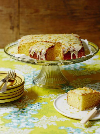 Glutenfree lemon cake Fruit recipes Jamie Oliver recipes