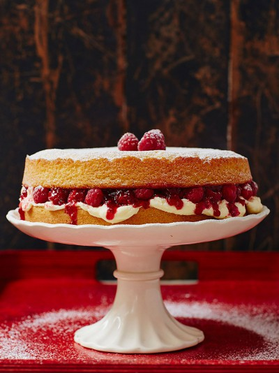 My Special Victorian Sponge Fruit Recipes Jamie Oliver