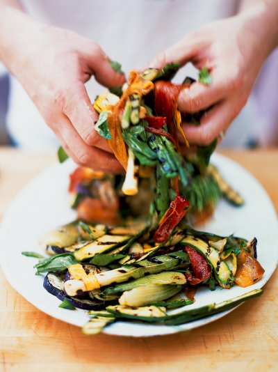 Chargrilled Vegetables Vegetables Recipes Jamie Oliver Recipes