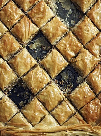 Mixed nut & honey baklava