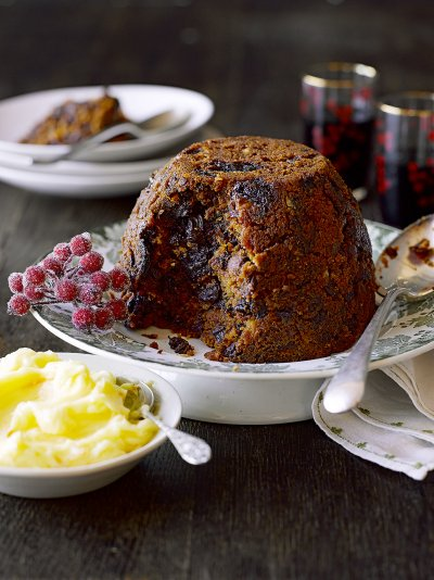 Gluten-free Christmas pudding