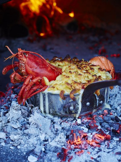 Lobster mac 'n' cheese
