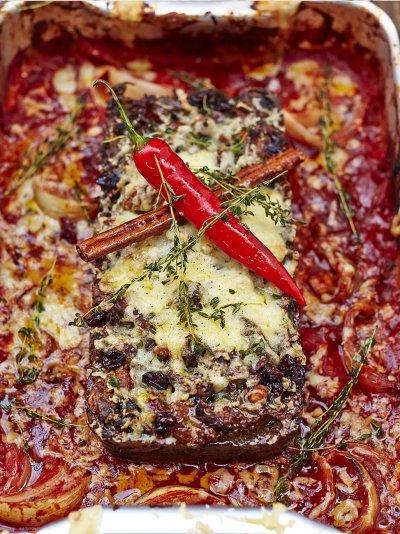 incredible nut roast - Vegetarian Christmas Entree