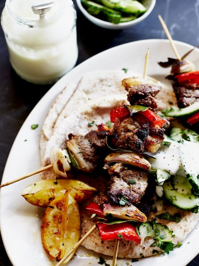 Jamie oliver quick lamb kebabs 20m super easy forumfinder Image collections