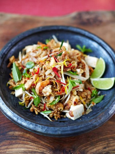 Prawn Tofu Pad Thai Recipe Jamie Oliver Recipes