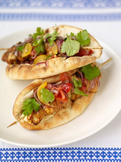 Jamie oliver saffron spiked chicken kebabs forumfinder Image collections