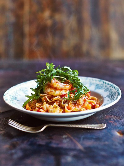 Prawn Linguine Pasta Recipes Jamie Oliver