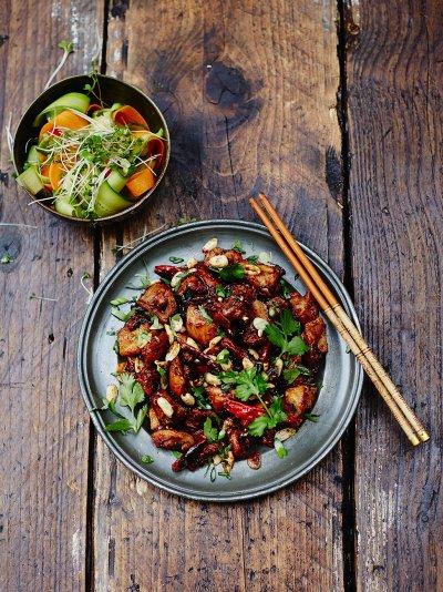 szechuan saus oppskrift