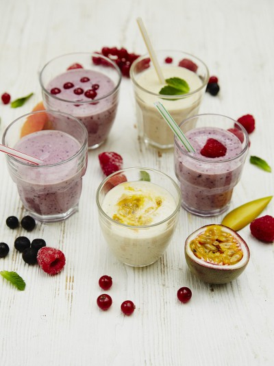 Jools' favourite smoothies & ice lollies