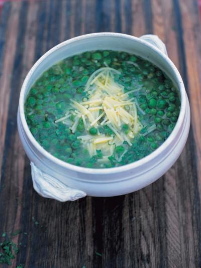 Altamura pea soup (Minestra di piselli di Altamura)