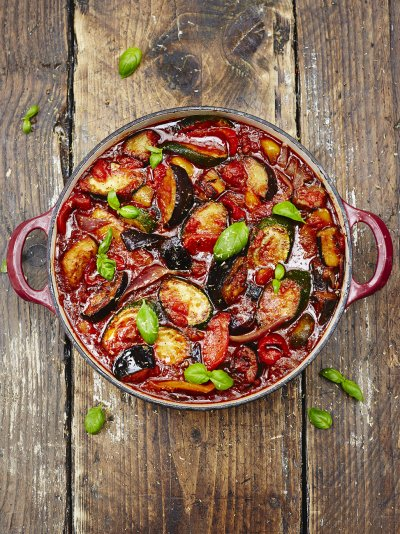 best ratatouille recipe | jamie oliver veggie recipes