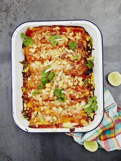 Vegetarian Enchiladas Vegetable Recipes Jamie Oliver Recipes