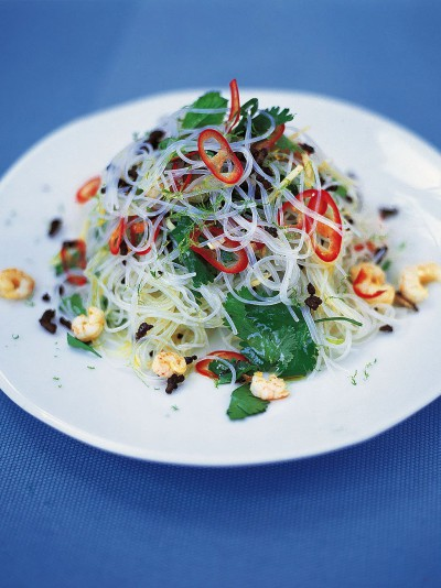 Fresh Asian noodle salad