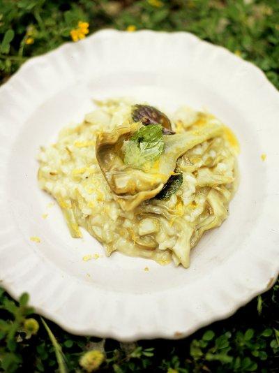 Artichoke risotto (Risotto ai carciofi)
