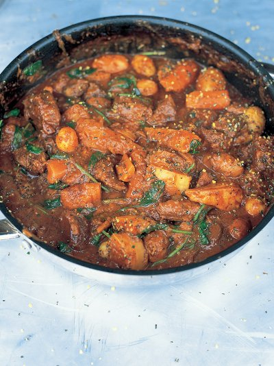 Jools's favourite beef stew
