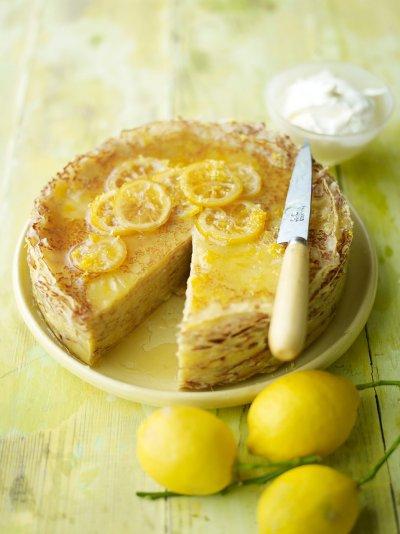 Lemon Crepe Cake | Fruit Recipes | Jamie Oliver Recipes