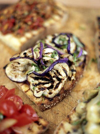 Jamie oliver aubergine mint bruschetta forumfinder Images