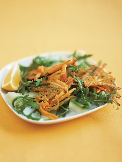 Vegetable bhaji salad