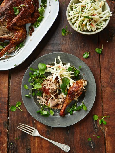 pasta with slow roasted duck recipe dishmaps gorgeous slow cooked duck ...