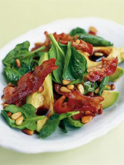 Jamie oliver avocado pancetta pine nut salad 20m super easy forumfinder Images