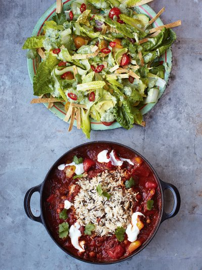 Veggie Chilli Vegetables Recipes Jamie Oliver Recipes