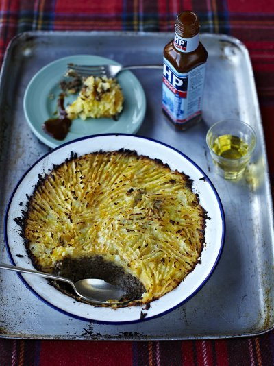Easy Essex haggis neeps & tatties shepherd's pie stylie