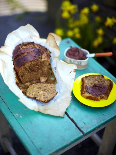 Walnut banana loaf fruit recipes jamie oliver recipes forumfinder