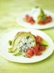 Courgette & tomato rice sformato