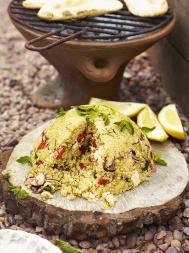 Greek-style quinoa salad bomb