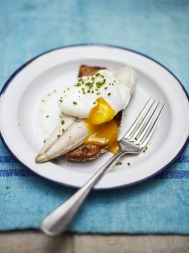 Irish mackerel breakfast