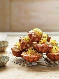 Lemon & rosemary cakes