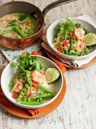 Prawn & coconut curry