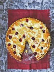 Cranberry bakewell