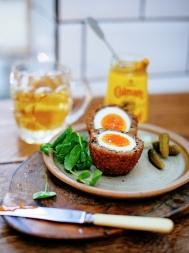 Haggis scotch eggs